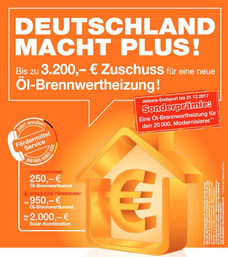 Deutschland mach Plus!